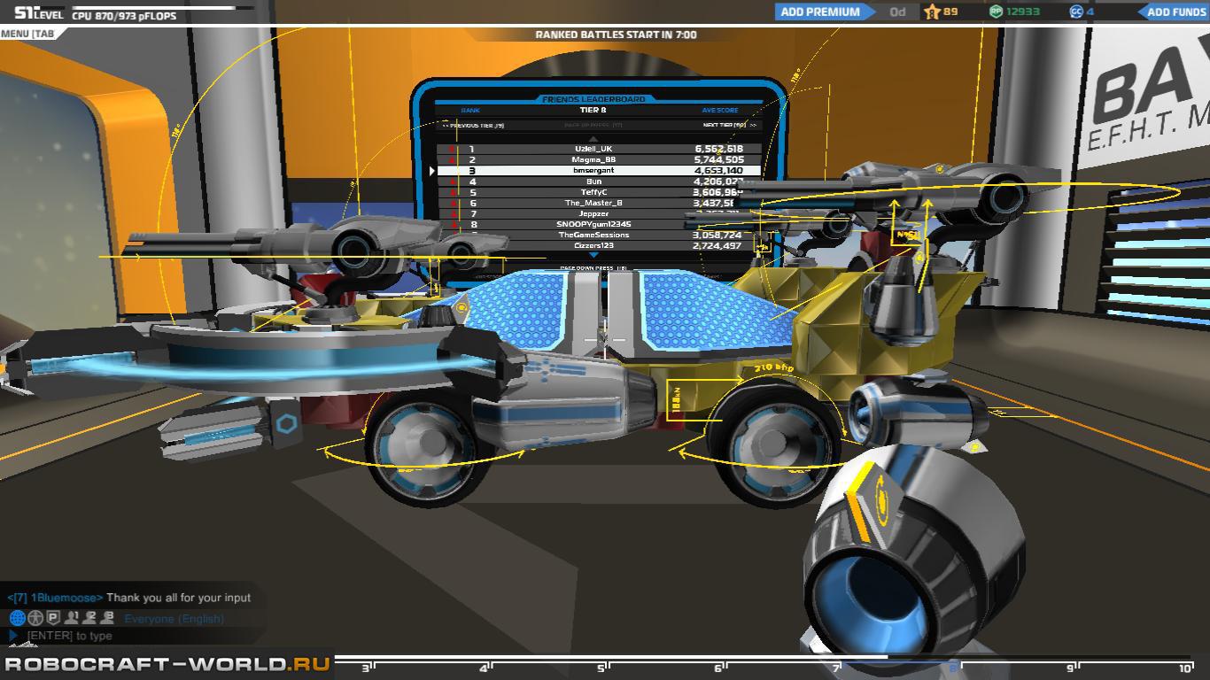 Как в робокрафте сделать теслу